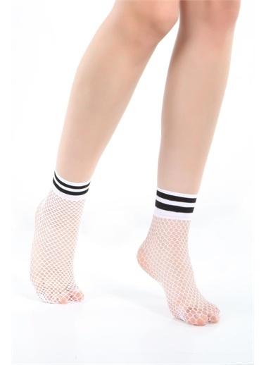 Doremi Soket Çorap Beyaz